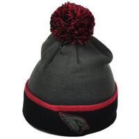NFL Arizona Cardinals Gray Black Knit Beanie Cuffed Winter Hat Toque One Size