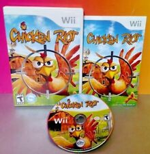 Chicken Riot Shooter - Nintendo Wii & Wii U  Game Rare COMPLETE Rare 1-2 players