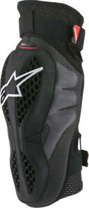 ALPINESTARS SEQUENCE KNEE PROTECTORS BLACK/RED LG/XL