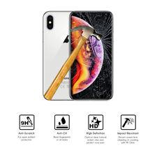 "Protector de Cristal de Vidrio Templado para Apple iPhone Xs Max (4G) 6.5"""