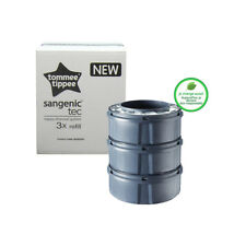 Sangenic recharge Tommee Tippee lot de 3 TEC Citron pour poubelles TEC et MK