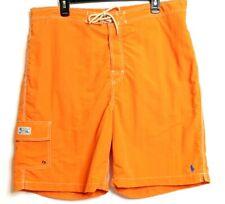 Men's POLO Ralph Lauren XXL Surf Board Shorts Orange Mesh Lining NWOT