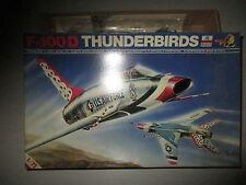 F-100D THUNDERBIRDS KIT MONTAGGIO ESCI SCALA 1:72