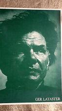 Lataster, Ger Ger Lataster:  Une Exposition De Peintures 1969