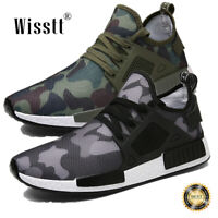 Mens Camo Mesh Athletic Casual Sneakers Outdoor Running Breathable Sports Shoes