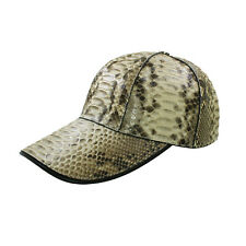 Genuine Python Snake Skin Leather Alligator Baseball Handmade Duck Hats Caps New