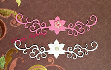 ✿ Flower Flourish Swirl Edge Border Die ✿ New For Cuttlebug & Sizzix ✿