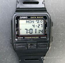1987 Vintage CASIO DBA-80 (555) Phone Dialer Japan M 32mm watch - New Battery