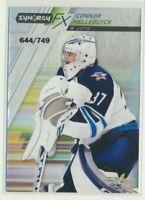 2020-21 Synergy FX Rookie Connor Hellebuyck /749 Winnipeg Jets