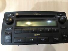 04-08 Toyota Corolla Matrix Factory Oem Radio 6 Disc Cd Changer 86120-02440 06