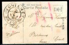 "Cachet Ancre de Marine "" Fonteney Eugene "" sur carte postale de Yokohama - M11"
