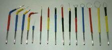 Set of 13 pcs DENTAL Electrodes Surgery Dermatology Tips for Electrosurgery unit