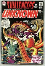 Challengers Of The Unknown #77-1970 vg Jack Kirby Dave Wood