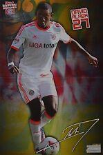 DAVID ALABA - A3 Poster (ca. 42 x 28 cm) - Fußball Clippings Sammlung NEU