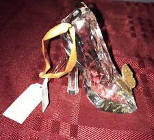 Disney Parks Runway Cinderella Live Action Glass Slipper Shoe Ornament NWT