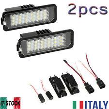 2 pcs lampade a LED targa per Volkswagen GOLF MK4 MK5 MK6 Passat CC senza errore