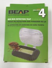 4-Pack Bed Bug Detection Trap Beap 10019 - 4 - Brand New - Sealed