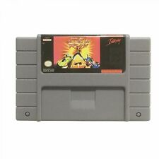 Rock N Roll Racing USA Version 16 Bit Big Gray Game Card For NTSC Game Player