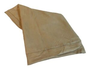 55''x37''x4'' Durable Brown Suede Bed Cover for X-Large Dogs [COVER ONLY]