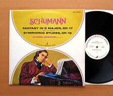 VCS 10020 Alfred Brendel Schumann Fantasía/Symphonic Etudes 1972 Vanguard Casi Nuevo/Excelente