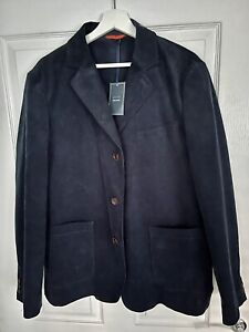 John Lewis Cord Blazer Navy Men's Size Large L with Tags