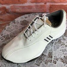 NWB Vtg Adidas Greenside Women's Sz 8 White Leather Golf Shoes