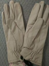 Leather Gloves, Off-White