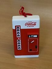 Coca-Cola Christmas Collectable Tree Decoration - Vending Machine - Pack of 6