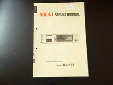 Original Service Manual Schaltplan AKAI HX-R44