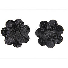 Girls Lace Breast Sticker Nipple Covers Dress Pasties Heart 1/5 Pairs Traceless