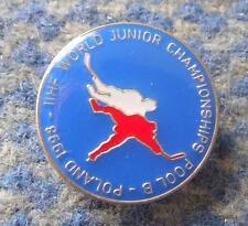 IIHF WORLD CHAMPIONSHIPS JUNIOR POOL B ICE HOCKEY POLAND 1998 PIN BADGE