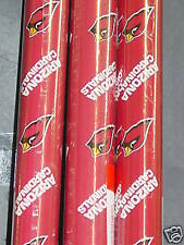 "NFL ""Arizona Cardinals"" Wrapping Paper (4 rolls) NEW"