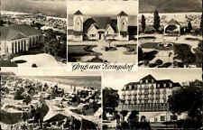 Heringsdorf Usedom DDR AK 1959 Ostsee Mehrbildkarte Gebäude Häuser Meer Strand