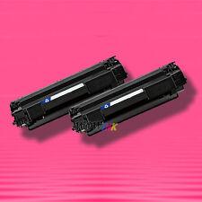 2 Non-OEM Alternative BLACK TONER for HP CB436A 36A LaserJet M1120 M1120n