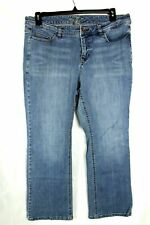 Old Navy The Flirt Women's Plus Jeans Boot Cut Medium Wash Denim Size 16