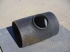 "Steel Tee 16"" x 8"" Small Lip Buttweld Pipes Plumbing Fittings"