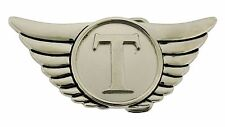 Thor Belt Buckle Marvel Comics Usa American Hammer Logo Silver Metal Fashion New