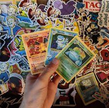Charizard, Blastoise, Venusaur Trading Card (Pokemon) Decal/Sticker Bundle