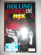 K7 VIDEO VHS ROLLING STONES LIVE AT THE MAX