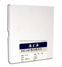 50 Sheets ShangHai 4x5inchs Black & White B&W 100 ISO Film 2018.10 ~ Fresh