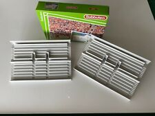 Subbuteo Terrace Set Grey- NEW IN BOX. No Supporters. BUILD STADIUMS