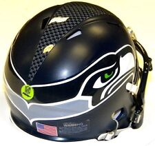 RUSSELL WILSON EDITION Seahawks Riddell NFL Game Day Football Speed Mini Helmet