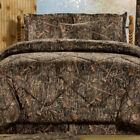 True Timber Conceal Brown Camouflage Bedding Set Comforter Skirt Shams Add More