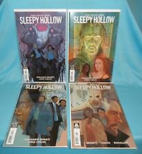 Sleepy Hollow #1 #2 #3 #4 1-4 Complete Comic Run Set Hit TV Show Fox Boom VF