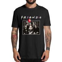 Horror Friends Pennywise Michael Myers Jason Voorhees Halloween Gift Men T-Shirt