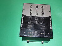 NUMARK DM950 Professional Preamp Mixer Silver Silver 2-Channel Untested