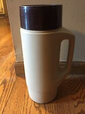 Vintage THERMOS 1/2 Gallon Container Cooler Jug Coffee Brown