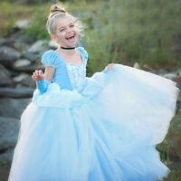 Blumenmädchen Prinzessin Kleid Party Hochzeit Mädchen Kommunion Taufe BC653