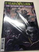BATMAN SUPERMAN #4, Year Of The Villain, ACETATE COVER,  DC COMICS,YOTV