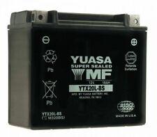 Yuasa YTX20L-BS 12V Batteria per Moto, ATV, Tosaerba